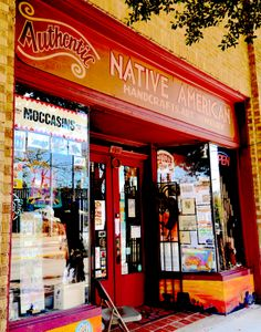 The best for Native American jewelry and good conversation with the owner.