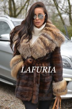 BROWN SUPERIOR SAGA MINK. MINK FUR COAT. SUPERIOR SAGA MINK ! IS ONE OF THIS FUR THAT WE DO NOT HAVE TO RECOMMEND. MADE OF HIGHEST QUALITY SKINS. BRAUN SUPERIOR SAGA MINK. SUPERIOR SAGA MINK. WITH BEAUTIFUL BIG FOX COLLAR. | eBay!