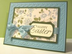 Easter Blossoms card by Lianne Carper - Cards and Paper Crafts at Splitcoaststampers