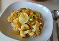 Blumenkohl-Bananen-Curry