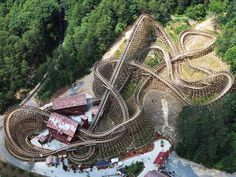 World& fastest wooden <b>roller</b> <b>coaster</b>? At Dollywood - Emirates 24 Scary Roller Coasters, Planet Coaster, Amusement Park Rides, Mountain Vacations, Tennessee Vacation, Great Smoky Mountains, Water Slides, Vacation Spots, Places To Go