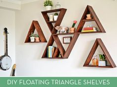 Make It: Awesome DIY Triangle Shelving System