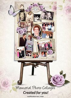 14 best collages for funeral images on pinterest funeral ideas