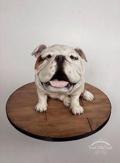 British Bulldog - Cake by Sweet Little Treat