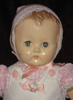 "~ 'Ideal' ""Plassie"" Baby Doll ~ (1950)"