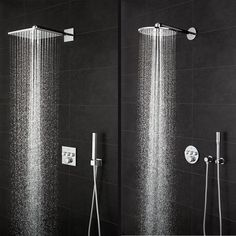 Round or square? Large or small? Wall or ceiling-mounted? GROHE head showers come in all shapes and sizes to match your design and budget requirements. Discover our complete shower systems here and find your perfect shower!  #GROHE #bathroom #showers #headshowers #showersystems #design #interior