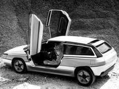 Citroën Zabrus by Bertone Citroen Concept, Concept Cars, Retro Cars, Vintage Cars, My Dream Car, Dream Cars, Supercars, Psa Peugeot Citroen, Woody Wagon