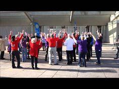 Rotary District 1020 Flashmob At Scottish Parliament