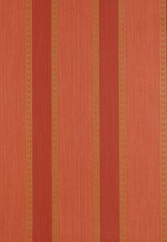 FSchumacher Wallpaper 5004622 Lansdowne Strie Stripe Coral