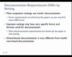 Billing and Coding, Module #4, from ASHA