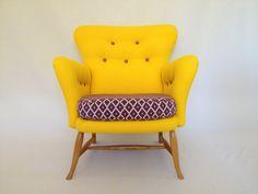 Vintage/Retro MidCentury Rare Ercol Tub Chair in por BBbespoke