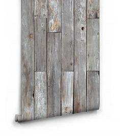 Rustic Wood Panels Wallpaper Roll