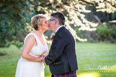 Wedding day kisses.... Wedding photography in Glasgow, Loch Lomond and Argyll by Ian Arthur at www.ianarthur.co.uk/weddings?utm_content=bufferc15d7&utm_medium=social&utm_source=pinterest.com&utm_campaign=buffer