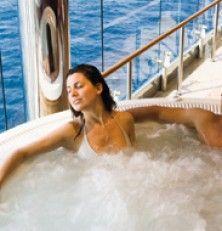 Bienestar a bordo de cruceros, barcos pensados para satisfacer y ofrecer placeres y ocio a pasajeros de toda edad.
