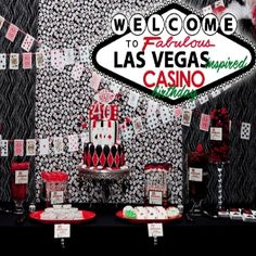 25 Adult Birthday Party Ideas 30th 40th Hot Pink Glamorous Casino In Celebration Of Her She Wanted To Have Another