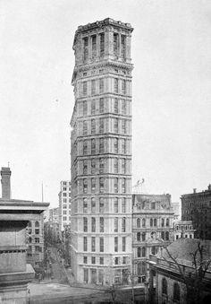 St. Paul Building, George Browne Post, New York City, 1898. Demolished 1958.