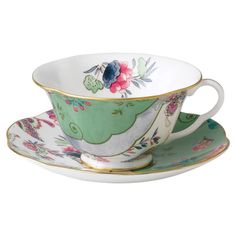 Wedgwood Butterfly Cup & Saucer Set