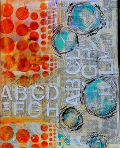 Art Journal Inspiration by Mopey