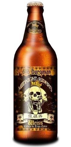 cerveja burgman midnight riders 600ml - BRASIL