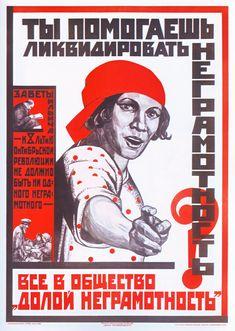 « Do you help to liquidate illiteracy ? »(1925)