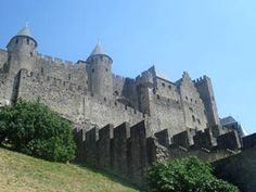 Cathar Castles - Carcassonne || nice article about one of the biggest castles of the world