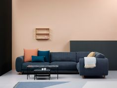 Stefan Borselius's Campo sofa is designed for lounging