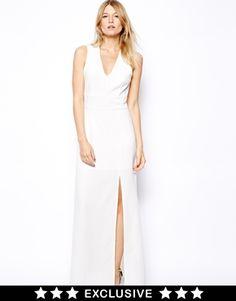 Image 1 - Love - Maxi robe croisée dans le dos