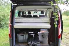 Mit unserem Campingmodul wird der Ford Transit zum Camper oder Campingbus