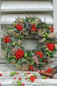 Berries and naturals wreath