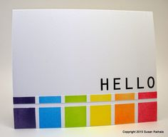 Simplicity: Rainbow Color Blocks