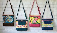 The Jasmine Sling Bag PDF sewing pattern Bagstock Designs