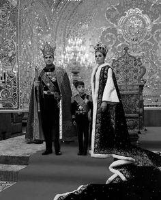Empress Farah Diba, Shah of Iran