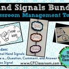 This packet includes all 3 of my hand signal products: Hand Signals for Communicating Daily Needs I Have a...Question/Comment/Answer Me Too Signal ...
