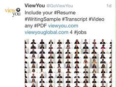ViewYou Video Resume and CV  WorkTravelTeach Abroad - How do you make a great first #impression #Job #VideoResume #VideoCV #Viewyou #jobs #jobseekers #careerservices #career #students #fraternity #sorority #travel #application #HumanResources #HRManager #vets #Veterans #CareerSummit #studyabroad #volunteerabroad #teachabroad #TEFL #LawSchool #GradSchool #abroad #ViewYouGlobal viewyouglobal.com #global #MarketHunt