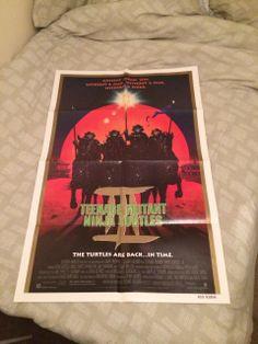 Teenage Mutant Ninja Turtles 3 movie poster from 1993.
