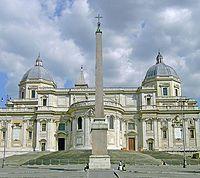 Centro histórico de Roma - Basílica de Santa María la Mayor (Esquilino).