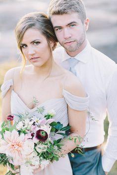 Sunrise Elopement Wedding Inspiration - The Celebration Society