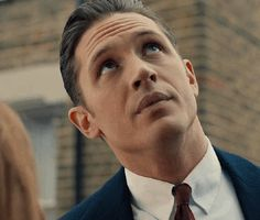 #gif_of_hardy Tom Hardy as Reggie Kray in Legend // someone