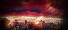 City under siege by RenatoSs.deviantart.com on @DeviantArt