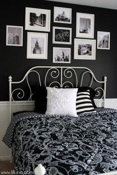 Guest bedroom makeover with a travel theme. #Explore