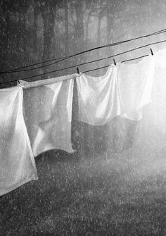 It always rains on washing days