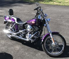 My 2001 Dyna Wide Glide.. so shiny!
