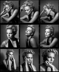 Fashiontography: Charlize Theron by Vincent Peters Pose Portrait, Portrait Photography Poses, Female Portrait, Photo Poses, Photography Tips, Editorial Photography, Celebrity Photography, Photography Lighting, Fashion Photography