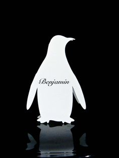 Feb. Deal of the Month - Penguin Place Cards