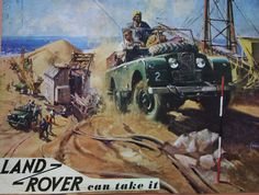 Land Rover Can Take it 1957 | This is is one of the pictures… | Flickr