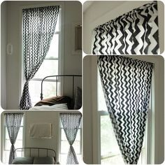 DIY How To Make Curtains ; Easy Sewing Tutorial Pattern