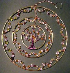Celtic Tree of Life Sun Catcher by MugsysCelticDesigns