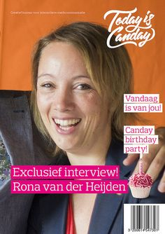 Canday Cover: Rona van der Heijden - Canday 1e Birthday Party
