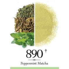 PEPPERMINT MATCHA GREEN TEA POWDER