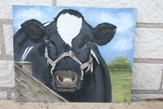 My first painted cow:)